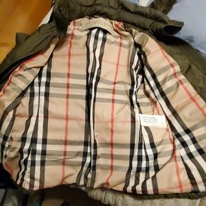 Burberry Brit Down filled polyester outer layer